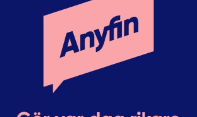 Anyfin billig ränta