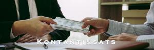 Handpenning kontantinsats